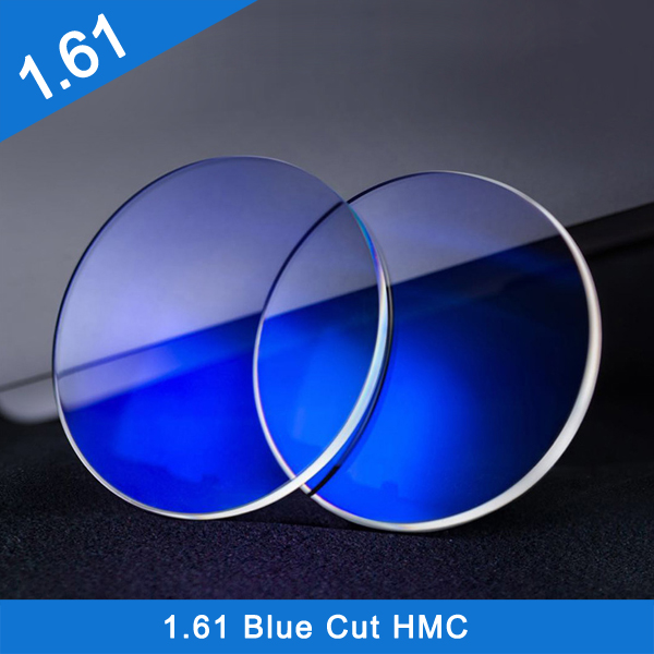Wholesale hot selling good price 1.61 Blue Block UV420 Cut Eyeglass optical Lens