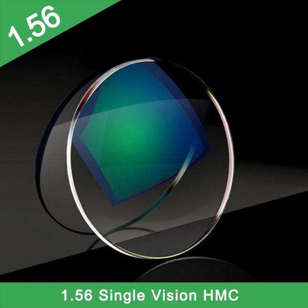 L'usine de la Chine vend en gros la lentille optique à vision unique 1.56 HMC + EMI