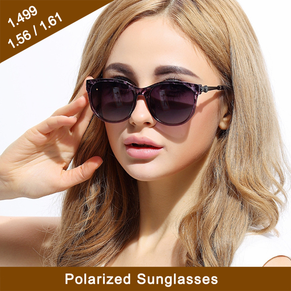 Sunglasses Finished & Semi-Finished 1.61 Polarized HMC Optical lens