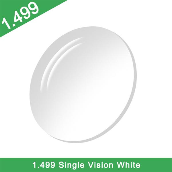 Stock d'usine de haute qualité bon prix Cr-39 1.49 lentille blanche