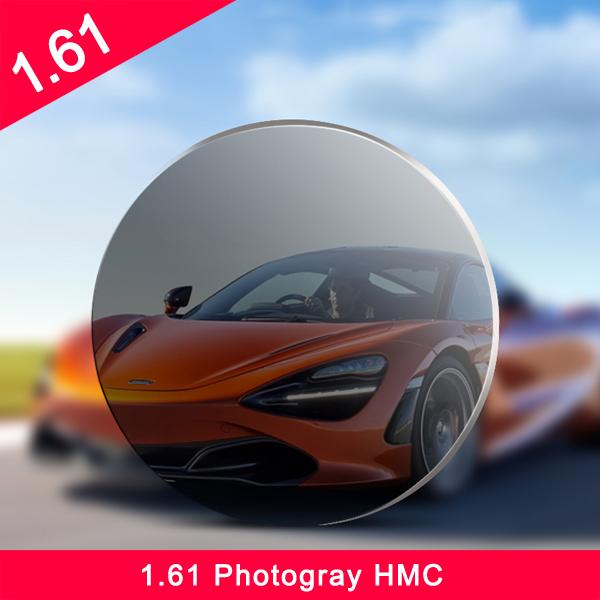 حار بيع تصميم واحد 1.61 رؤية عالية العدسات البصرية مؤشر hmc الفهرس