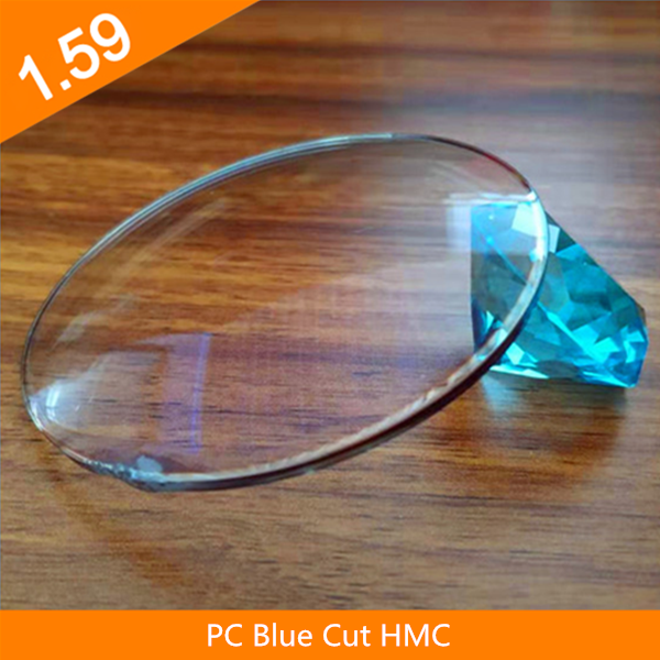 Ống kính quang học HMC 1.59 Polycarbonate Blue Cut