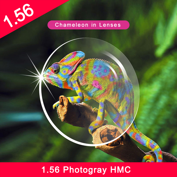 عدسات فاشن تشاينا 1.56 اللونية عدسات لونية nk55 pgx hmc