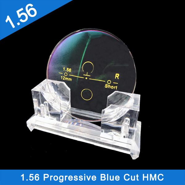 Factory low price fast delivery 1.56 Progressive Blue Cut HMC EMI Optical Lenses