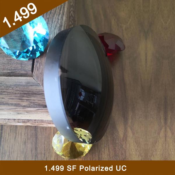 Stock Semi-Fiinished1.499 Single Vision Polarized Optical Lens