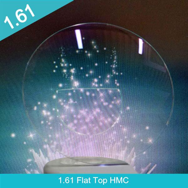 Slàn-reic 1.61 plastaig roisinn Bifocal HMC sùla sùla optigeach