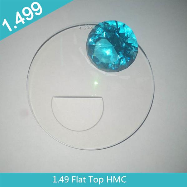 Wholesale 1.49 resin plastic  Bifocal  HMC optical eye lens