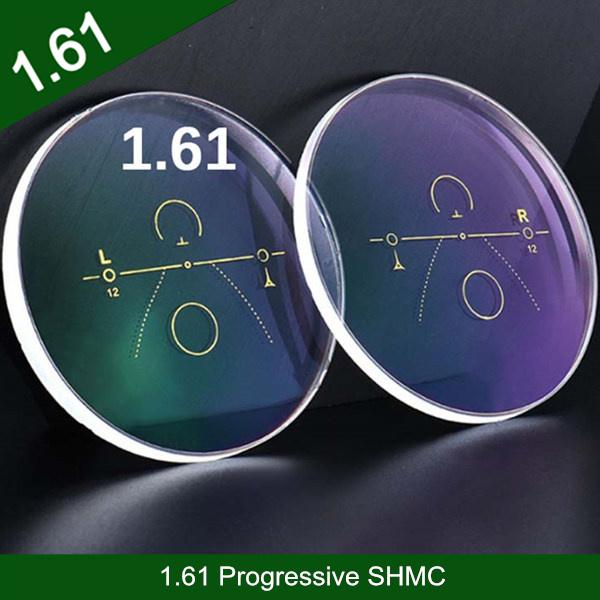 卸売業1.61樹脂プラスチックプログレッシブSHMCクロスボウデザイン光学目レンズ