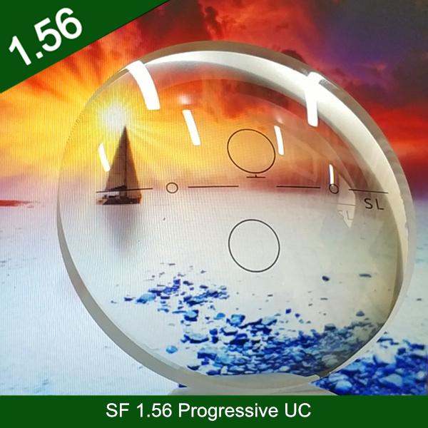 卸売業半製品1.56樹脂プラスチックプログレッシブUCクロスボウデザイン廊下光学目レンズ