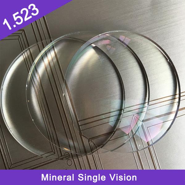 أنهى المصنع 1.523 عدسة بصرية معدنية أحادية الرؤية
