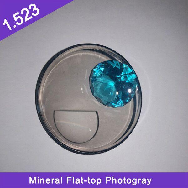 مصنع جودة عالية السعر المنخفض شبه تشطيب 1.523 المعدنية مسطحة أعلى عدسة ضوئية ضوئية